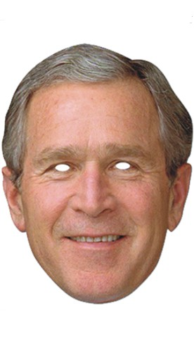 MASCARA GEORGE BUSH
