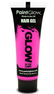Gel para el Pelo Rosa Glow in the Dark