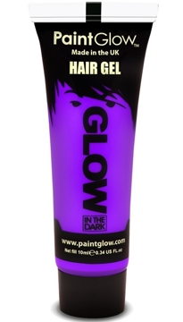 Gel para el Pelo Morado Glow in the Dark