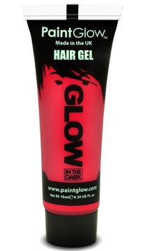 Gel para el Pelo Rojo Glow in the Dark