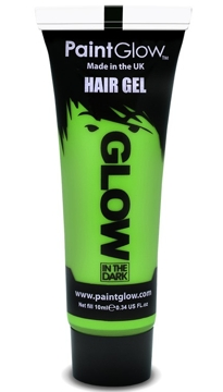 Gel para el Pelo Verde Glow in the Dark Joker