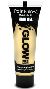 Gel para el Pelo Transparente Glow in the Dark