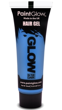 Gel para el Pelo Azul Glow in the Dark