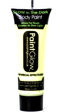 Gel Transparente Body Paint Glow in the Dark