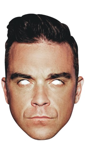 MASCARA ROBBIE WILLIAMS
